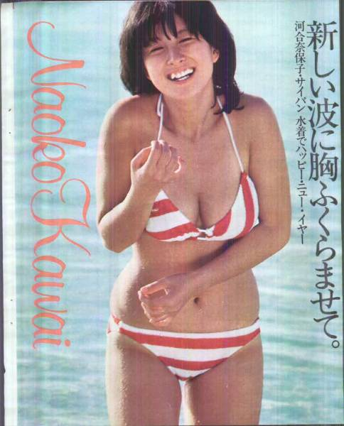河合奈保子水泳大会水着あり・坂井和泉・宇徳敬子他・送料無料