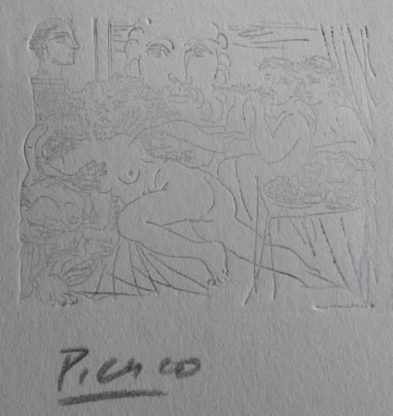 ピカソ サイン 画像