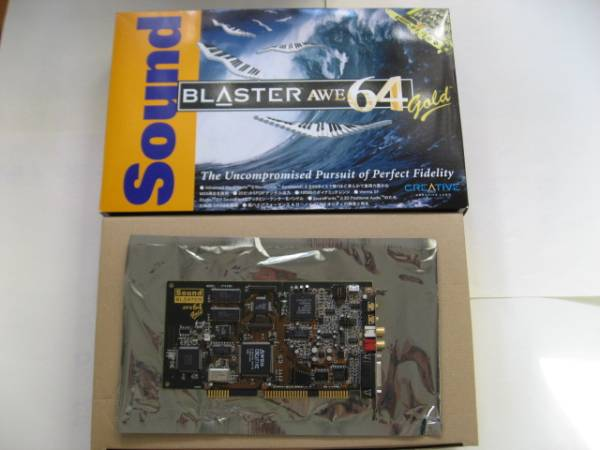 Creative サウンドブラスターAWE64 Gold(サウンドカード)|売買