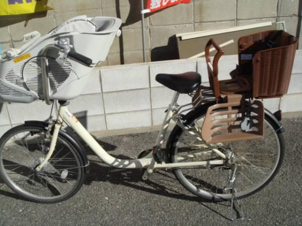 無印良品☆ 子供二人乗せ ママチャリ自転車_1