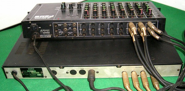 KORG M3R 音源モジュール Maxon PSM 8 ミキサー A37(音源