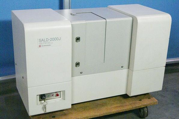 shimadzu 島津製作所 粒度分布測定装置 sald 2000j 環境測定器 売買