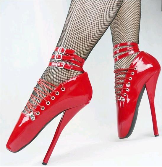コスプレ靴 ZONE,00の吉祥風 紅緒 風 赤ヒール(靴、ブーツ