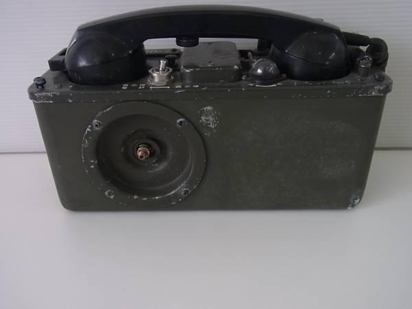 ■防衛庁 自衛隊 70式野外電話機 JTA-T1/完全ジャンク/棚Y1