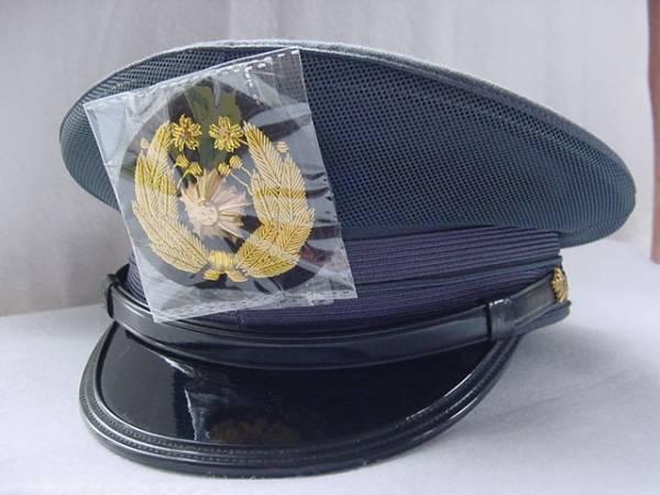 旧型 警察官制帽 帽章付 警邏 外...