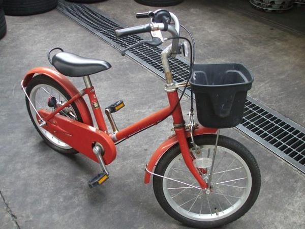 無印良品 良品計画 上尾工業 子供用 16型 自転車 ジャンク_1