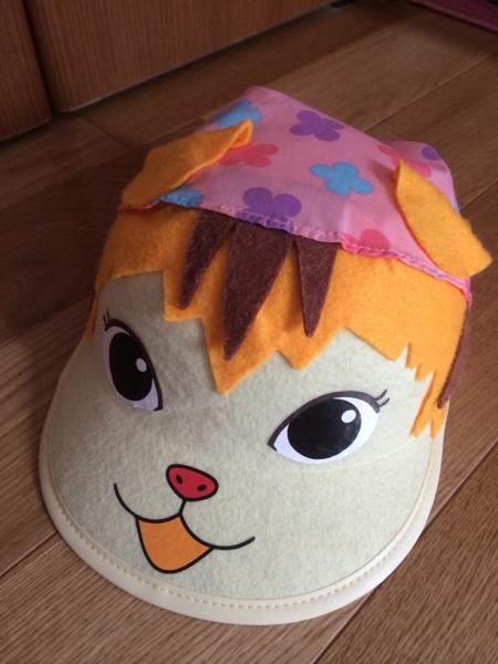 おかあさんといっしょ ミーニャ帽子 コンサート ポコポッテイト帽子