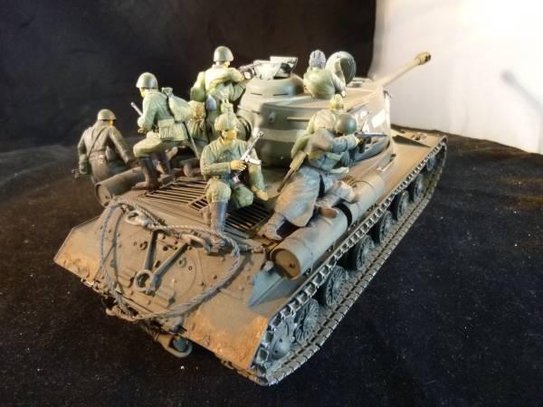 1 35 ソ連軍 JS-Ⅱ重戦車+タンク...