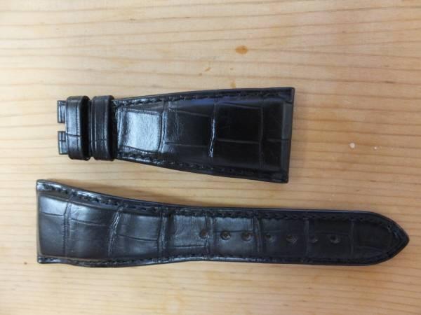 quality design 2dd76 e40ad ブルガリ アショーマ用純正 革ベルト 黒(アショーマ) 売買され ...