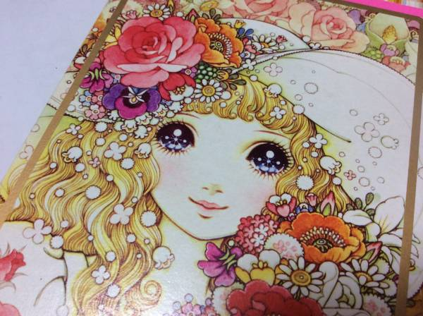 昭和レトロ 高橋真琴macotoイラスト コーリン箱入り色鉛筆12色筆記用具