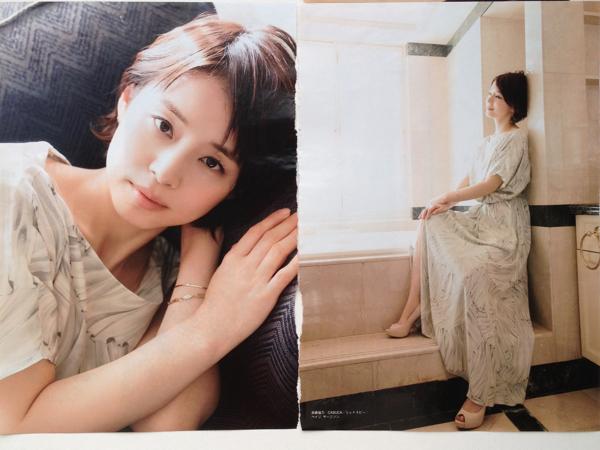 石田ゆり子さんのインナー姿
