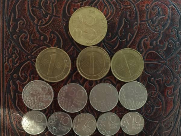 世界のコイン フィンランド マル...