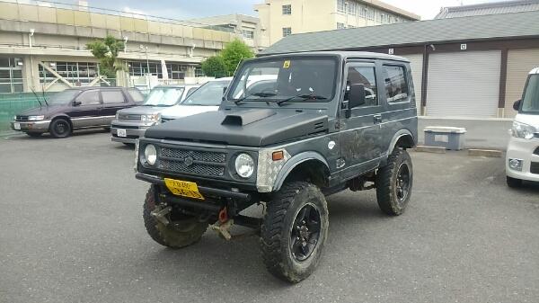 即クロカン 絶好調の車検ほぼ2年 カスタムジムニーJA11(ジムニー