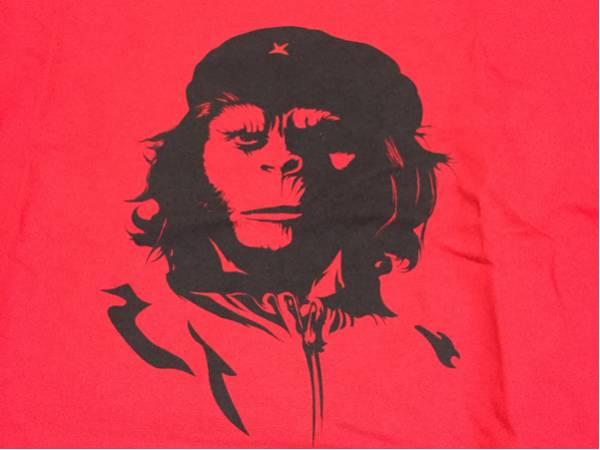 Ssur Plus Tシャツ 猿の惑星 チェゲバラ Lサイズイラストキャラクター