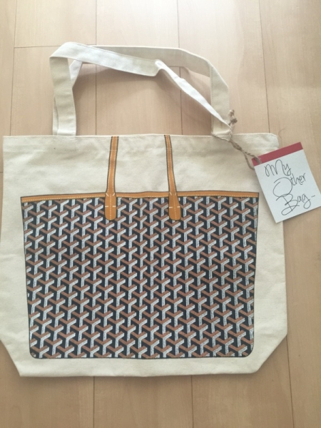 quality design 4c747 eaf40 my other bag マイアザーバッグ 本物 ゴヤール柄(エコバッグ ...