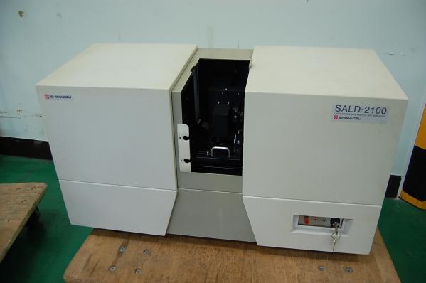 島津製作所 レーザー回折式粒度分布測定装置 sald 2100 環境測定器