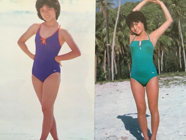 三田寛子さんの水着