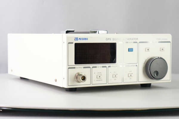 MEGURO MSG-2050-D1 GPS SIGNAL GENERATOR OPT 101 PPZE(その他)|売買