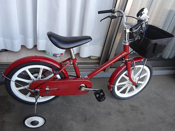 無印良品 幼児自転車 子供自転車 補助輪付き 16インチ ...