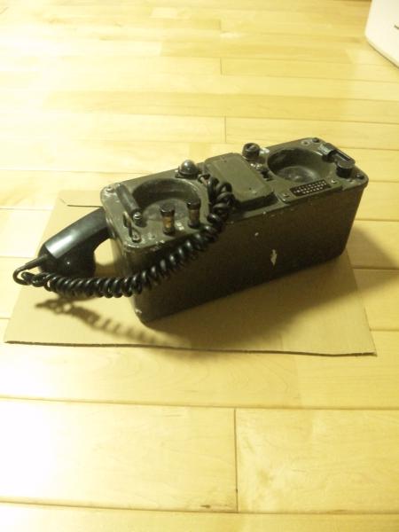 陸上自衛隊 70式野外電話機 JTA-...
