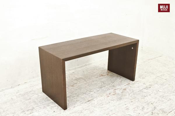 MUJI 無印良品 コの字の家具・積層合板・オーク材 テーブル¥2800税込