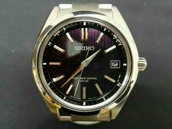 premium selection 5651c d00d2 セイコーブライツ SAGZ083 7B24-0BH0 ソーラー電波 腕時計 ...