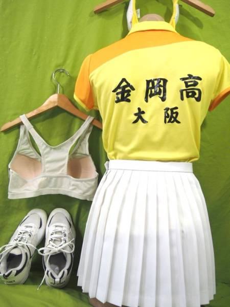 be7a6cf6568200 4-422 ヨネックス 大阪金岡高校女子テニス部ユニフォーム一式フルセット5 ...