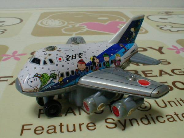 4d7a062ffd スヌーピー ANA ブリキ飛行機のおもちゃ(その他)|売買された ...