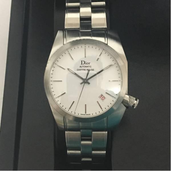 new product 7bd69 f1f51 ディオールオム シフルルージュ メンズウォッチ腕時計Dior homme ...