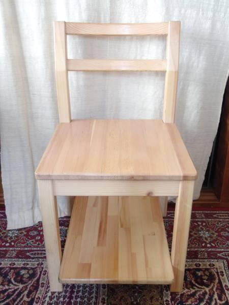 無印良品 パイン材子供用椅子 チェア 天然木 ...