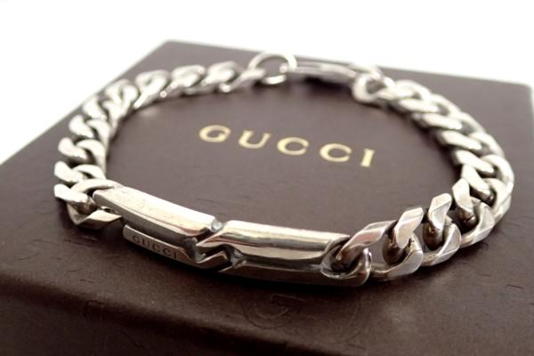 huge selection of 2ab94 af52a GUCCI グッチ ノットブレスレット シルバー925(ブレスレット ...