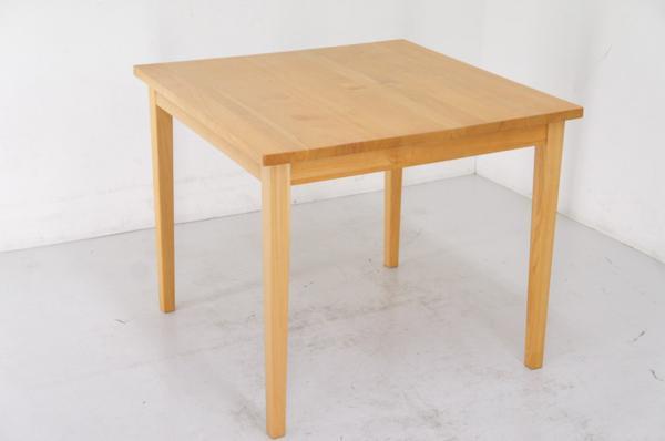 ☆MUJI 無印良品☆タモ材ダイニングテーブル85×85☆ナチュラル 木製 シンプル