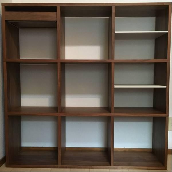 【無印良品】新品/オーク材ユニットシェルフ・追加棚板・引出