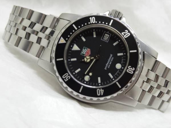 premium selection fb432 a0546 TAG HEUER タグホイヤー 1500シリーズ Professional Diver 200m ...