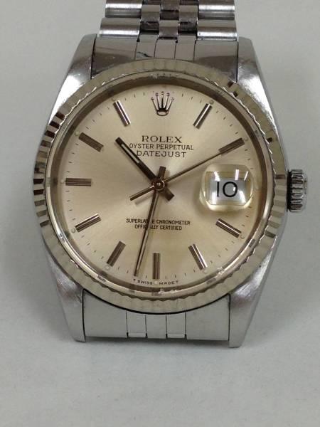 newest 4c7aa 2e9fc 腕時計 ROLEX ロレックス デイトジャスト 16234 メンズ自動巻き ...