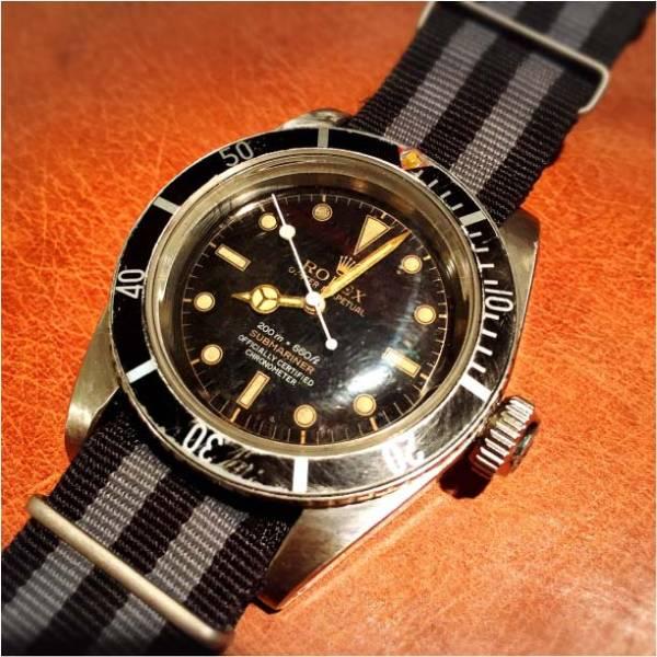 finest selection ba8f7 5b431 ロレックス 1950年代 ヴィンテージ サブマリーナ 6538 自動巻 ...