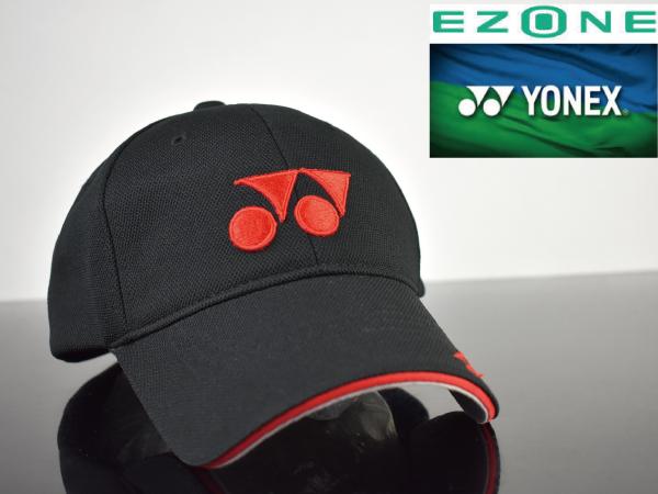 3f7fba85da0d4 【希少】YONEX ヨネックス キャップ 帽子 L156 EZONE メタルロゴ!錦織圭 テニス 限定1