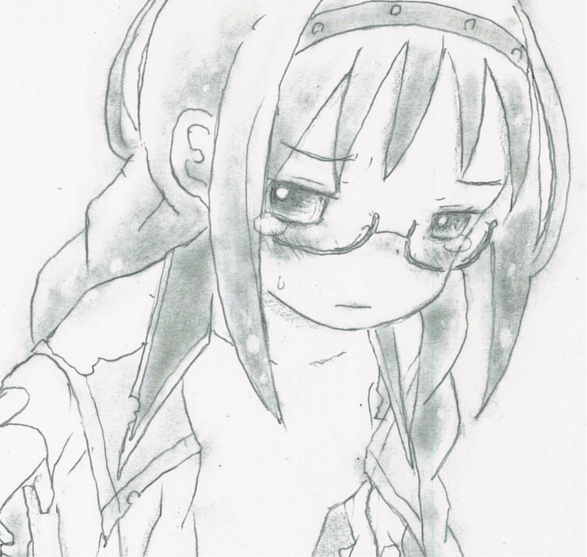 手描きイラスト 同人イラスト 魔法少女まどかマギカ 暁美ほむらさん