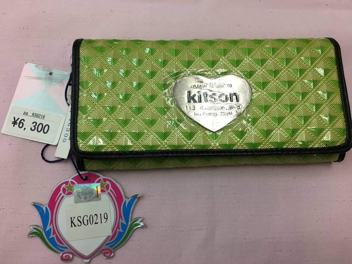 66e7aa8868d3 Kitsonキットソン 二つ折り 長財布 レディース 品(長財布(小銭入れあり ...