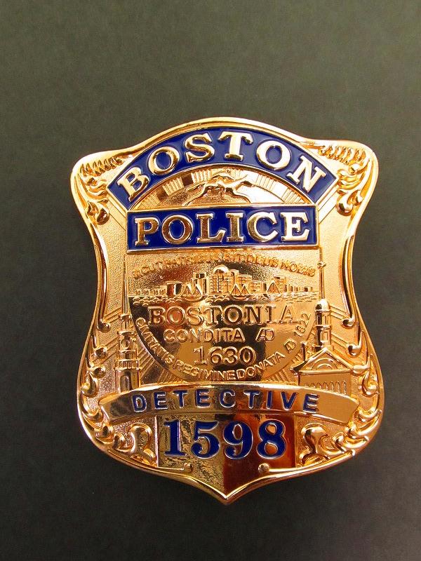 ボストン警察 ポリスバッジ 65 D...