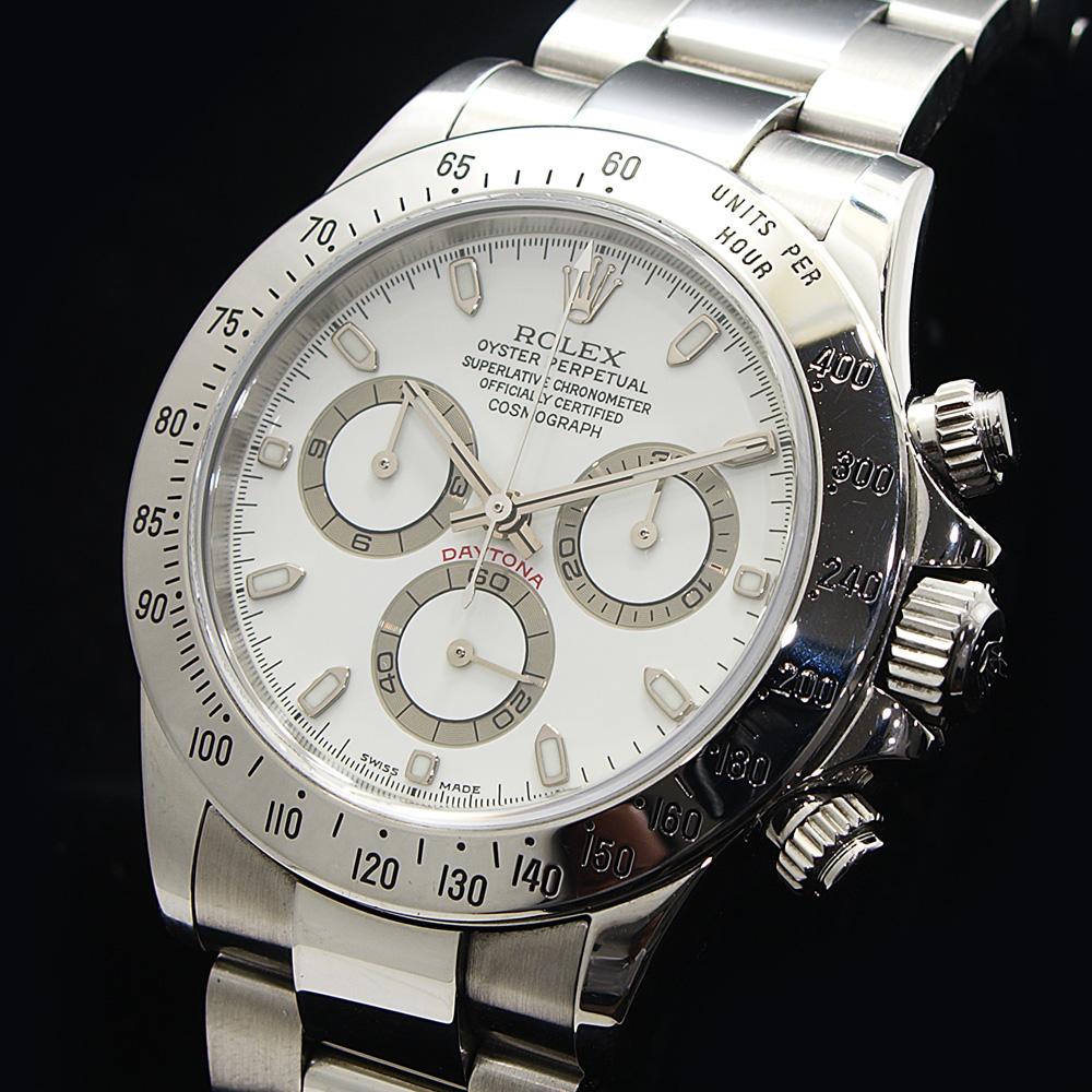 quality design 2952f 5a38f 楠本商店 ロレックス デイトナ 116520 アイボリー P番 2000年頃 ...