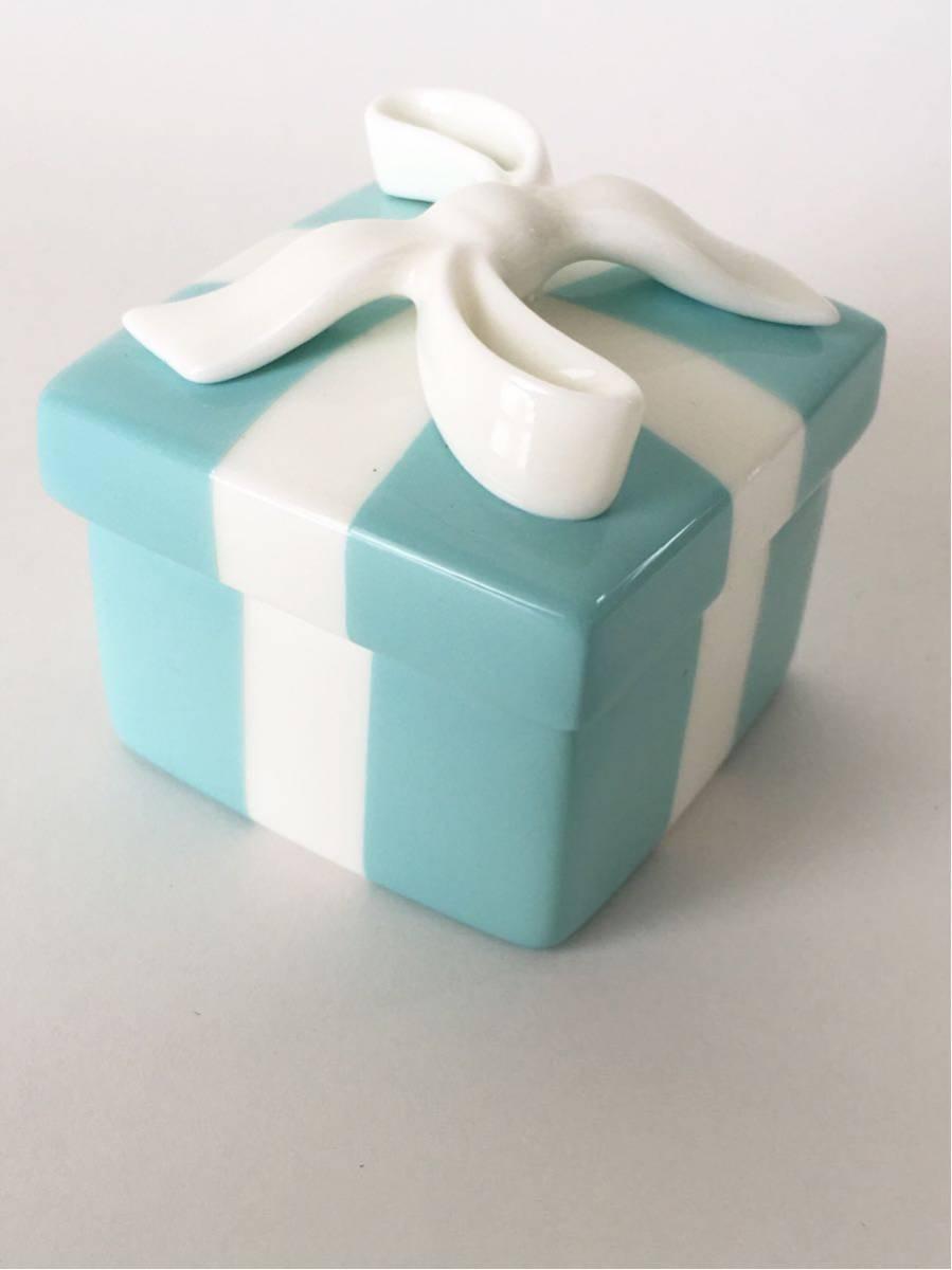 buy online 16bea fb0c3 ティファニー ブルーボックス 陶器 ボウボックス 小物入れ ...