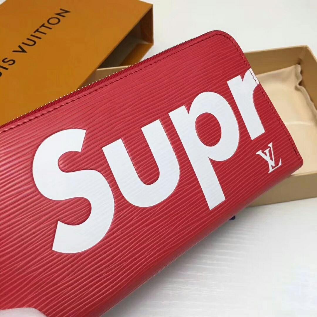 sale retailer 5da7e d8dc7 ルイヴィトン シュプリーム supreme コラボ 長財布 ラウンド ...