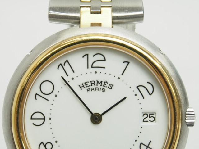 differently 7d35e 8fec0 エルメス クリッパー horloger オルロジェ ペア クォーツ 時計 ...