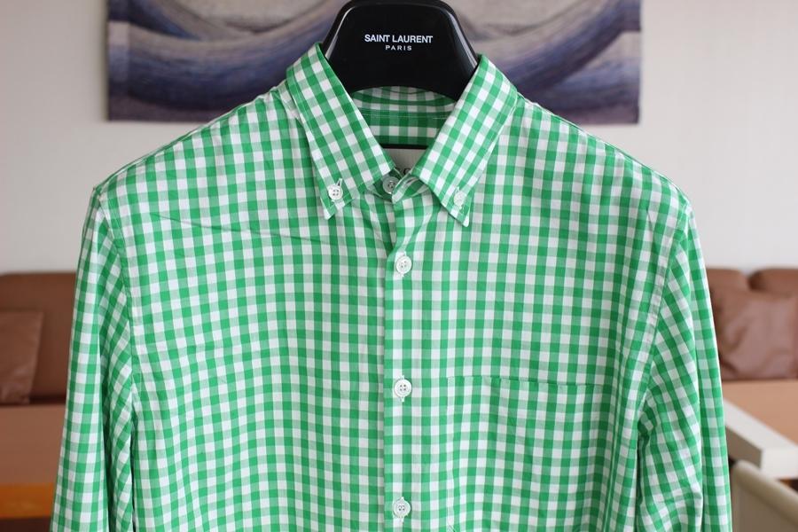 low priced 8e09d 55598 GUCCI チェックシャツ 39 グッチ 2018年購入(長袖シャツ) 売買 ...