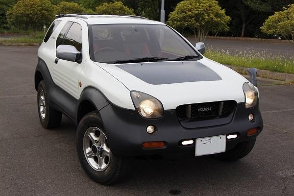 ビークロス いすゞ 新型いすゞミュー発売記念! いすゞの絶版SUV