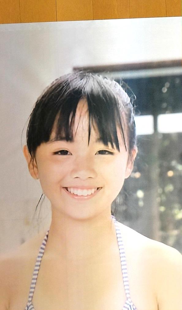 ほぼ 等身大 ジュニア アイドル ポスター えりかちゃん 76 x 137 cm ...