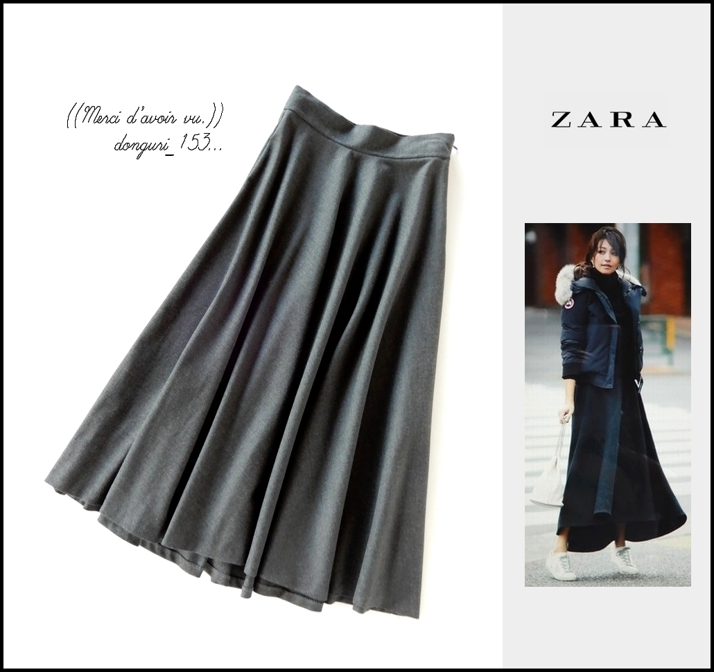 レザー スカート zara