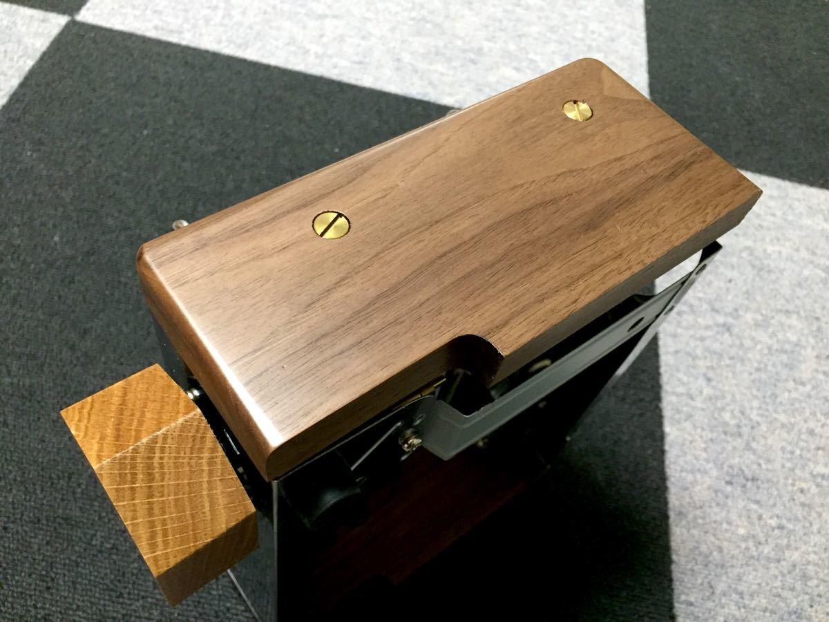 KOVEA CUBE カセットコンロ 横木板+木ダイヤル付き(カセット
