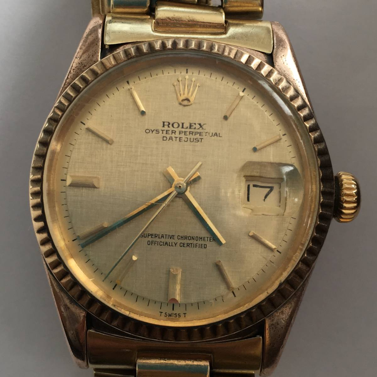 new arrival 69bd1 84076 ROLEX OYSTER PERPETUAL DATEJUST 1601 ロレックス オイスター ...